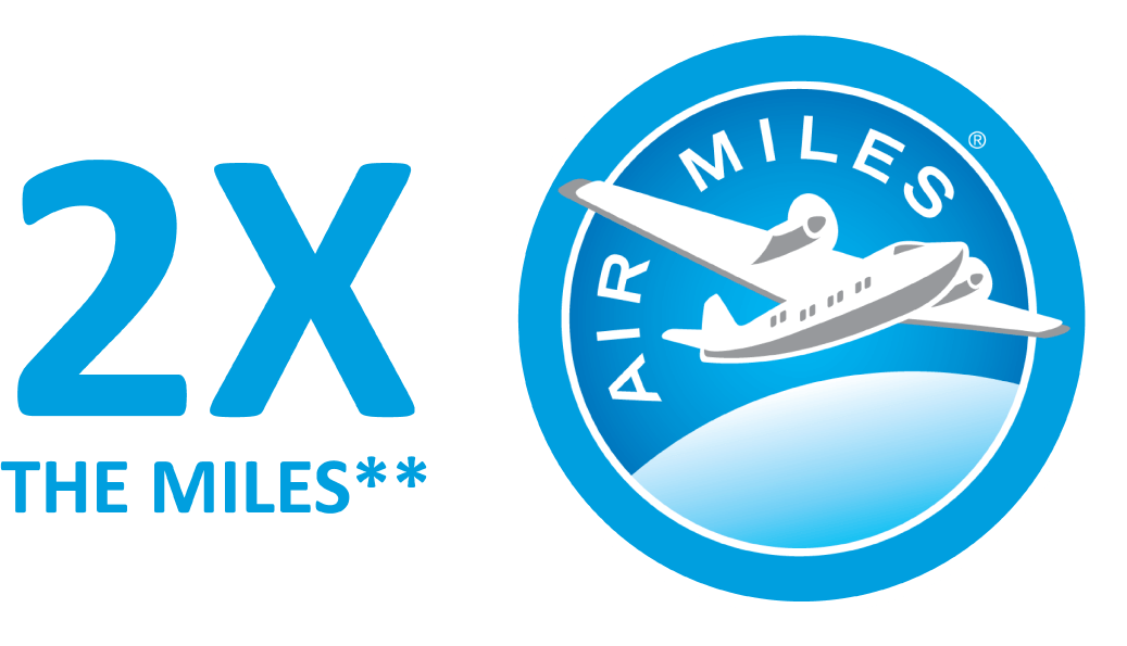 Double the Miles with Airmiles and Davis Airdrie