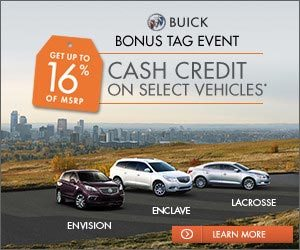 Buick Sales Event
