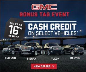 GMC Sales Event