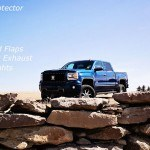 Davis Customs 2015 Blue GMC Sierra 1500