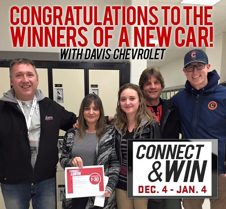 Connect & Win WINNERS of a New Car!