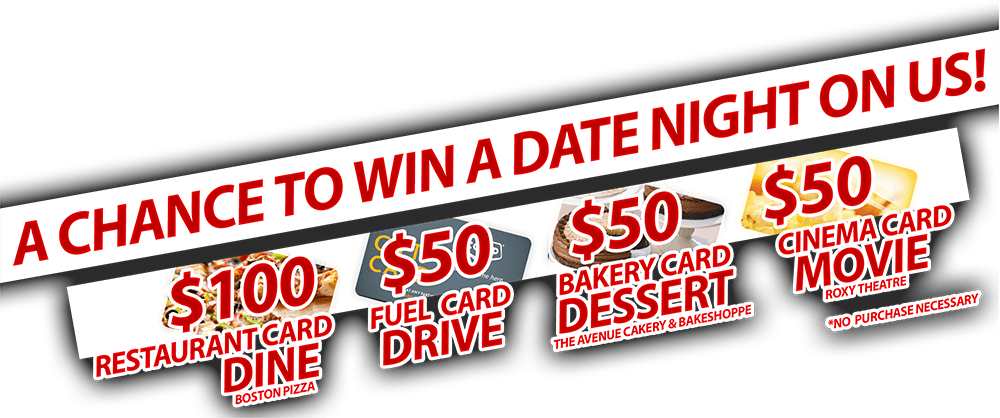 Win a Date Night on us