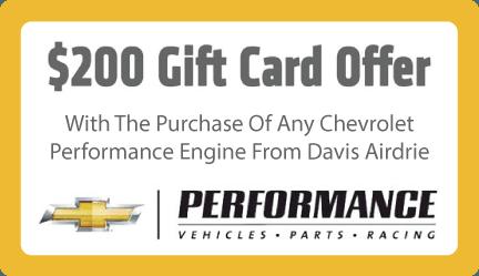$200 Gift Card Offer.