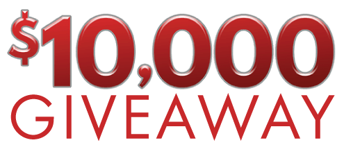 $10,000 Giveaway Davis Airdrie