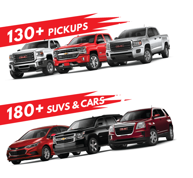 Overstocked Inventory Blowout New and Used Vehicle Sale