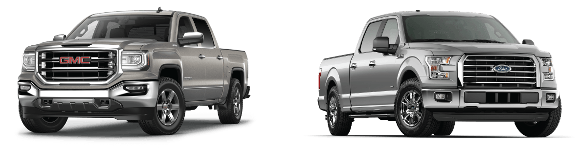 GMC Sierra VS Ford F-150