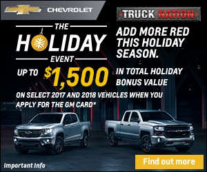 Chevrolet Holiday Event
