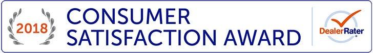 DealerRater Customer Satisfaction Award