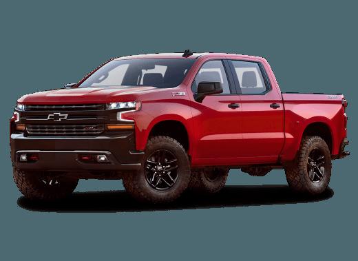 Newly redesigned 2019 Silverado 1500
