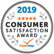 2019 Dealer Rater Consumer Satisfaction Award