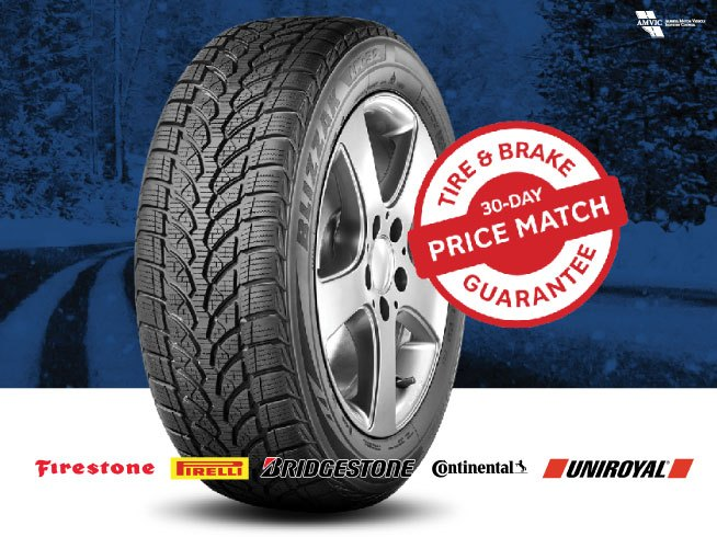 Price Match Guarentee. Tire Centre