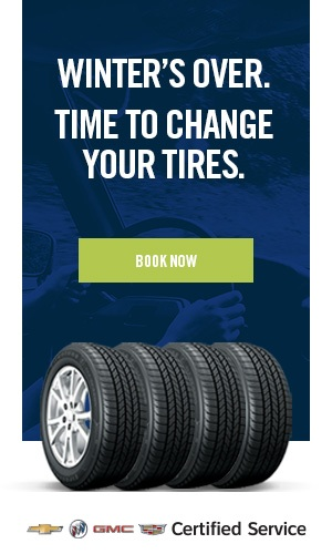 Winter's Over. Time to change your tires.