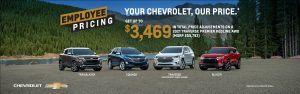 Chevrolet Employee Pricing